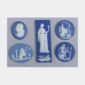 Fourteen Assorted Wedgwood-type Medallions