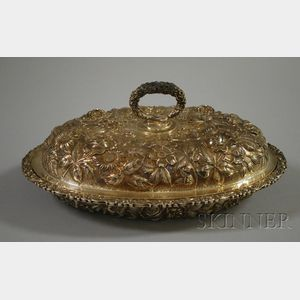 Heer-Schofield Company Sterling Repousse Covered Dish