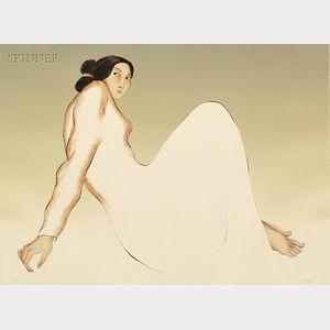 R.C. (Rudolph Carl) Gorman (American, 1932-2005)      Hana