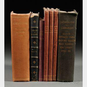Book Catalogs, Seven Volumes: