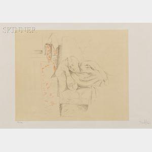 Balthus (French, 1908-2001)      Jeune Fille Dormant