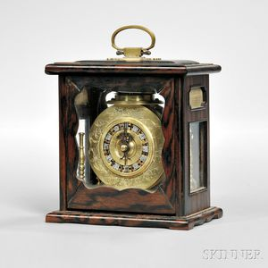 Japanese Makura Dokei Table Clock