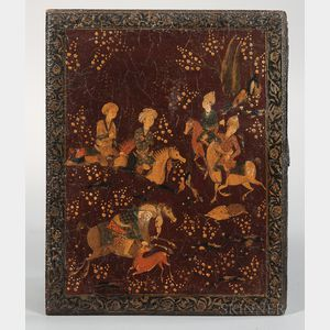 Papier-mache Painted Lacquer Book Binding