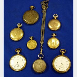 Eight Pocket Watches