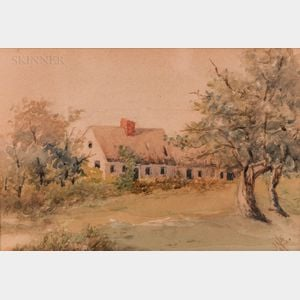 American School, Late 19th/Early 20th Century      Cottage View