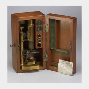 Early Leitz Microscope