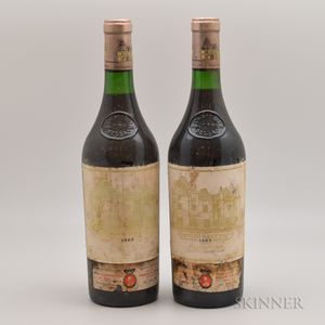 Chateau Haut Brion 1983, 2 bottles