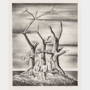Rockwell Kent (American, 1882-1971)      Beowulf: Genealogical Tree