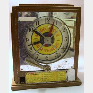 Magic Clock Gum Vendor