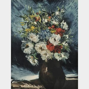 After Maurice de Vlaminck (French, 1876-1958)      Bouquet de fleurs