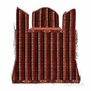 Yomud Saddle Rug