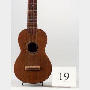 American Soprano 'Ukulele, Weyman Company, c.1930