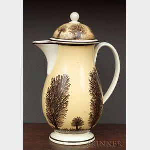 Mochaware Covered Coffee Pot