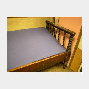 Painted Wooden Spool Day Bed