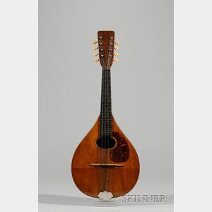 American Mandolin, C.F. Martin & Company, Nazareth, c. 1921, Style AK