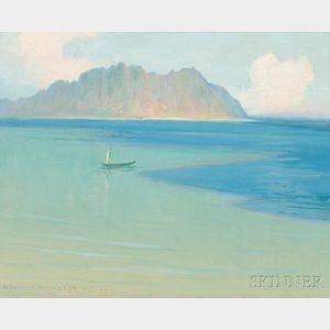 David Howard Hitchcock (American, 1861-1943)      Hawaiian Coast