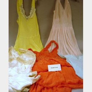 Twelve Vintage and Later Nightgowns and Negligees