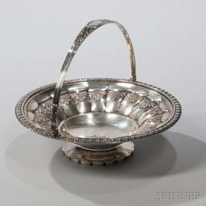 George IV Sterling Silver Basket