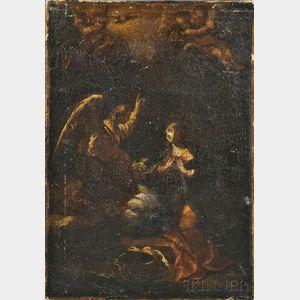 Italian School, 17th Century      Annunciation