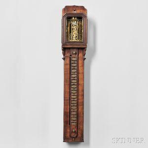 Large Japanese Striking Shaku Dokei or Pillar Clock