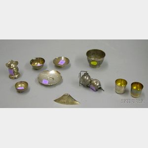 Grouping of Asian Styled Silver