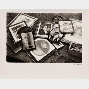Robert Frank (Swiss, b. 1924)      Vernacular Image Still Life
