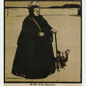 William Nicholson (British, 1872-1949) Lot of Twelve Portraits of British Notable Politicians and Figures:...