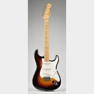 American Electric Guitar, Fender Musical Instruments, Fullerton, 1958, Model Stratoc