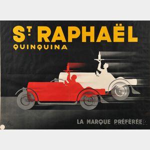 Albert Solon (French, 1897-1973)      St. Raphaël Quinquina
