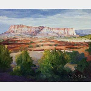 Pat Andreotti (American, 20th/21st Century)    Zuni Pueblo