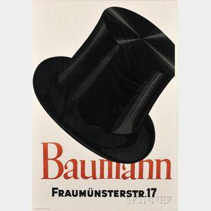 After Otto Baumberger (Swiss, 1889-1961)      Baumann