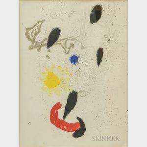 Joan Miró (Spanish, 1893-1983)      Composition VI
