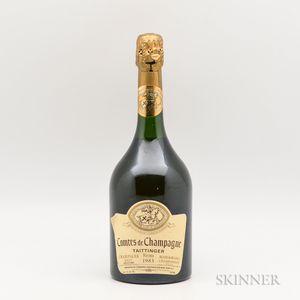 Taittinger Comtes de Champagne Blanc de Blancs 1983, 1 bottle