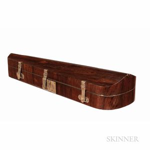 Rosewood Veneer Violin Case for George Withers, c. 1890