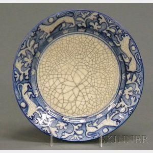 Dedham Pottery Tapestry Lion