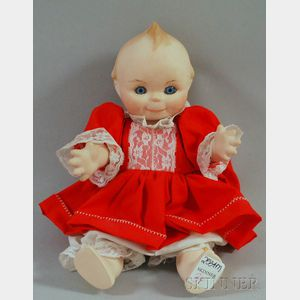 Bisque Head Kewpie Doll