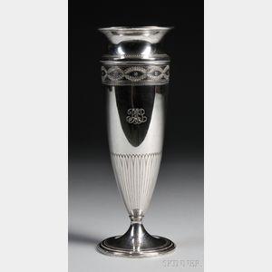 Tiffany & Co. Sterling Silver Urn-form Vase