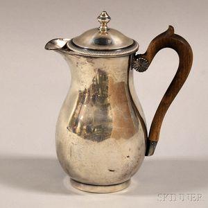 French .950 Silver Teapot