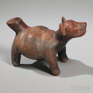 Colima Pottery Dog
