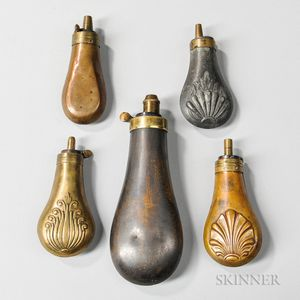 Five Powder Flasks