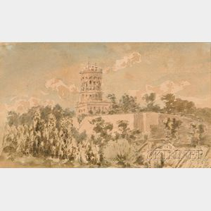 British School, 19th Century    At Boulogne, 4th September 1847