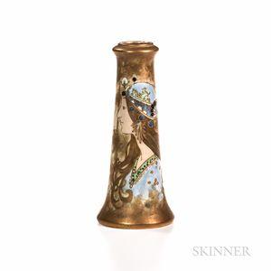 Riessner, Stellmacher & Kessel Amphora Portrait Vase