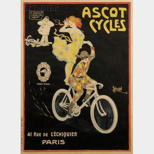 Edouard Alexandre Bernard (French, 1879-1950)      Ascot Cycles.
