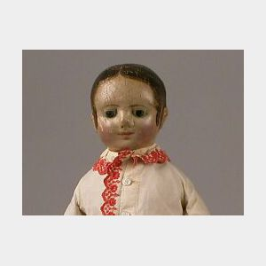 Sold for: $17,625 - Izannah Walker Cloth Girl Doll