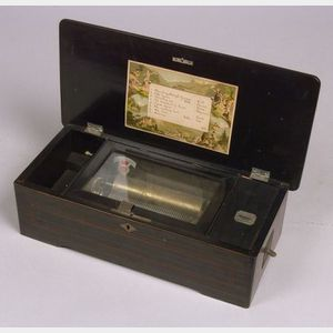 Coin-Operated Musical Box by Cuendet