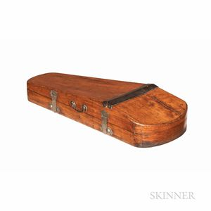 English Fruitwood Shipper Violin Case