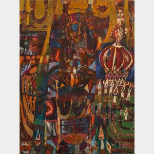 Henry Schwartz (American, 1927-2009)      Torah