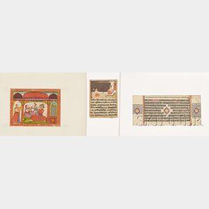 Three Manuscripts