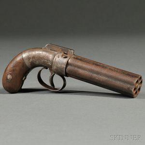Allen and Thurber Six-shot Pepperbox Pistol