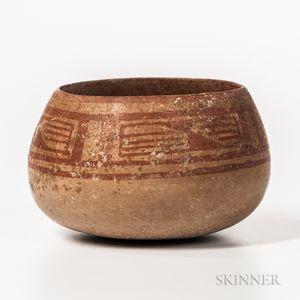 Monte Alban Pottery Bowl
